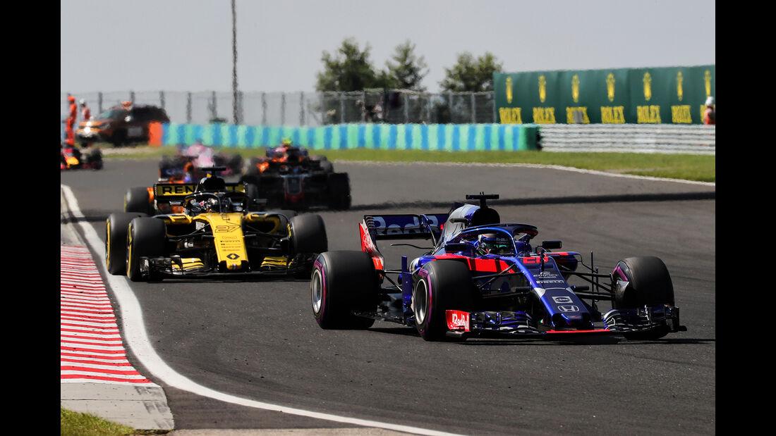 Brendon Hartley - GP Ungarn 2018