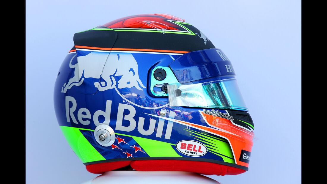 Brendon Hartley - Helm - Formel 1 - 2018