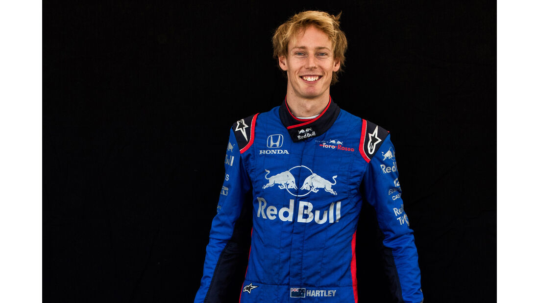 Brendon Hartley - Porträt - Formel 1 - 2018