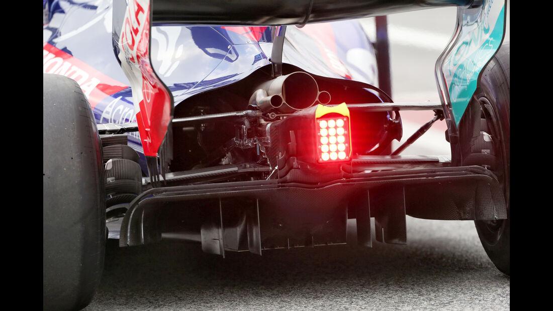 Brendon Hartley - Toro Rosso - Barcelona F1-Test 2018 - Tag 1