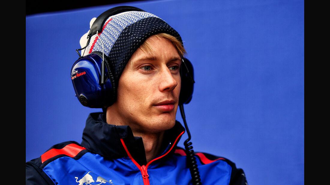 Brendon Hartley - Toro Rosso - F1-Test - Barcelona - Tag 2 - 27. Februar 2018