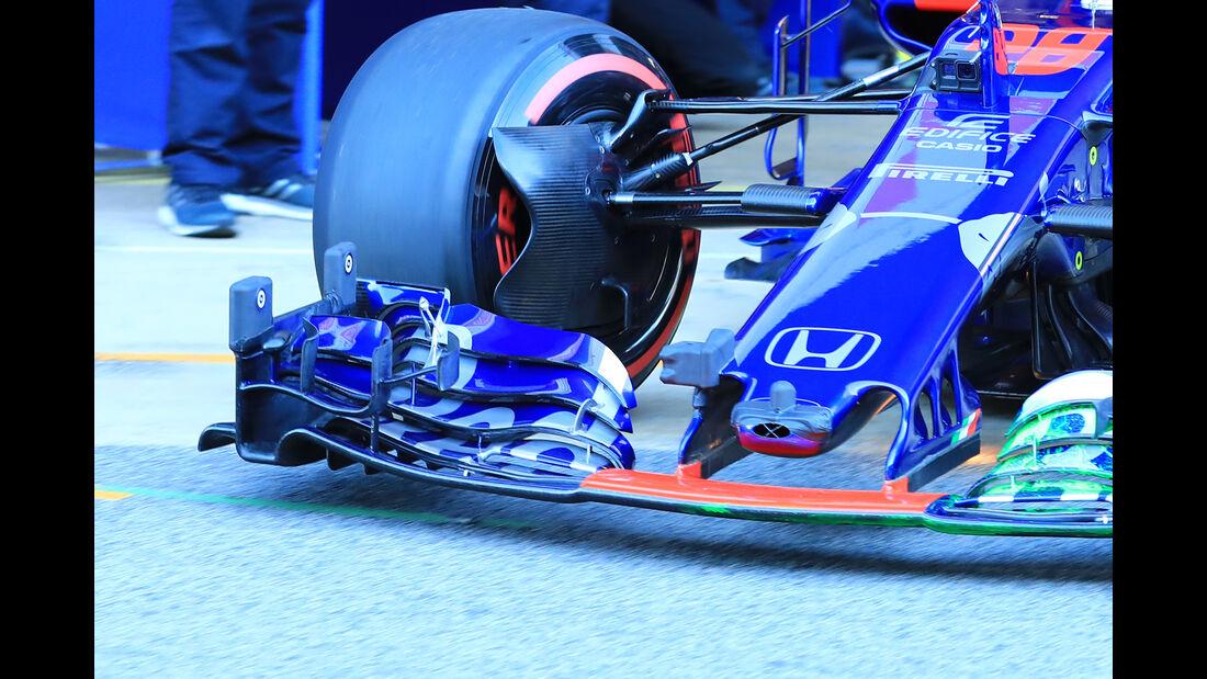 Brendon Hartley - Toro Rosso - F1-Test - Barcelona - Tag 5 - 6. März 2018