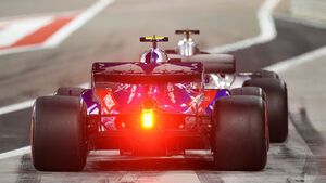 Brendon Hartley - Toro Rosso - Formel 1 - GP Bahrain - Training - 6. April 2018