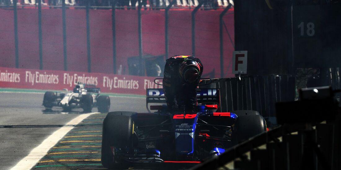 Brendon Hartley - Toro Rosso - Formel 1 - GP Brasilien - 10. November 2017