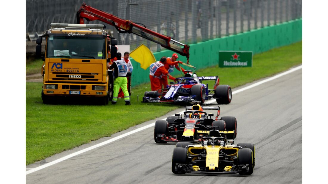Brendon Hartley - Toro Rosso - Formel 1 - GP Italien - 02. September 2018