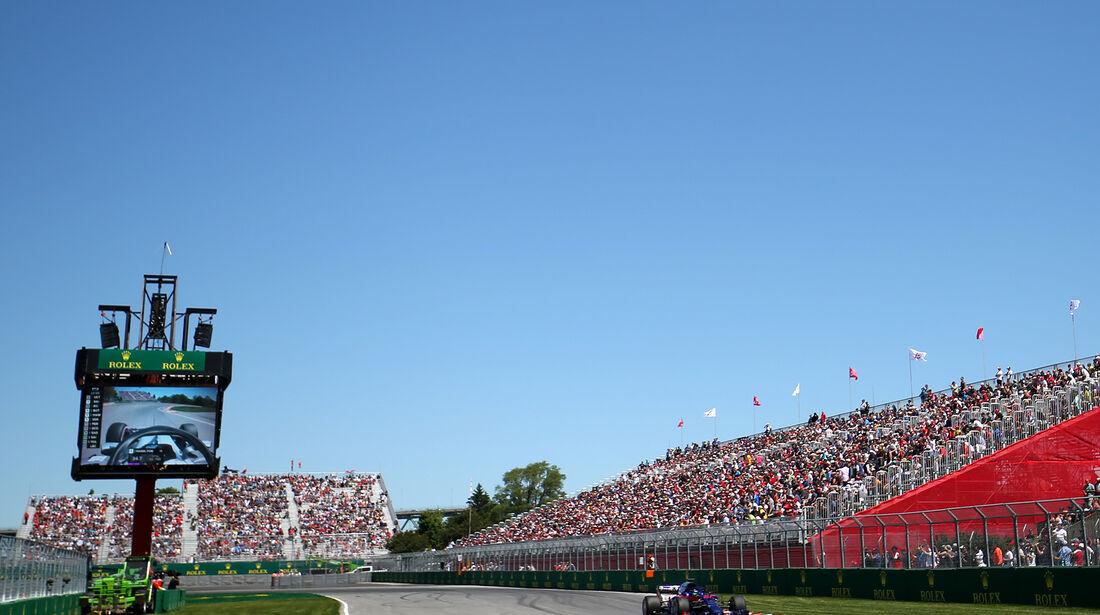Brendon Hartley - Toro Rosso - Formel 1 - GP Kanada - Montreal - 9. Juni 2018