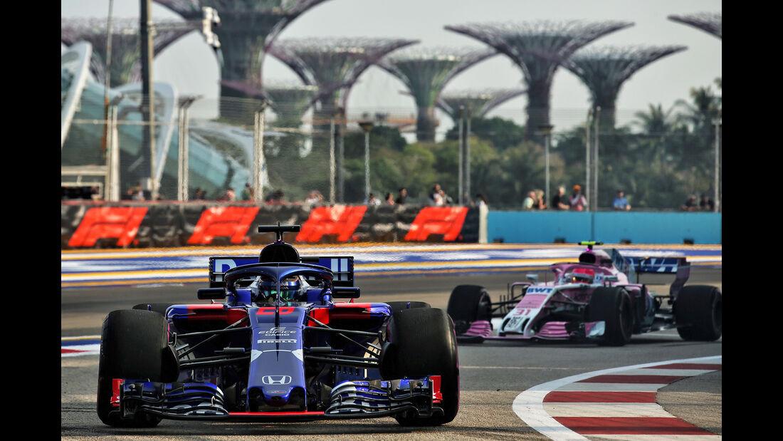 Brendon Hartley - Toro Rosso - Formel 1 - GP Singapur - 14. September 2018