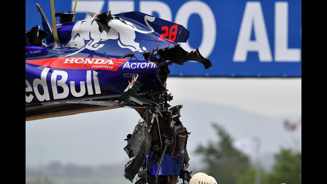Brendon Hartley - Toro Rosso - Formel 1 - GP Spanien - Barcelona - 12. Mai 2018