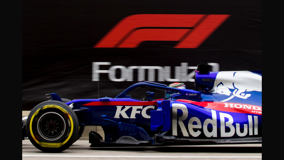 Brendon Hartley - Toro Rosso - Formel 1 - GP USA - Austin - 20. Oktober 2018