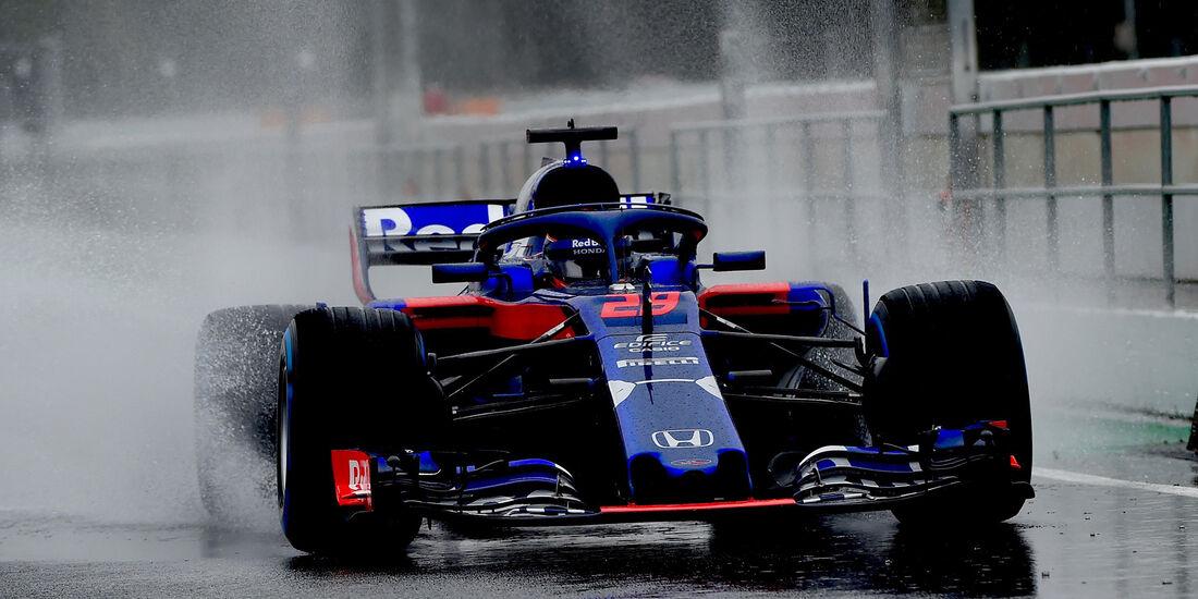 Brendon Hartley - Toro Rosso - Formel 1 - Test - Barcelona - Tag 3 - 28. Februar 2018