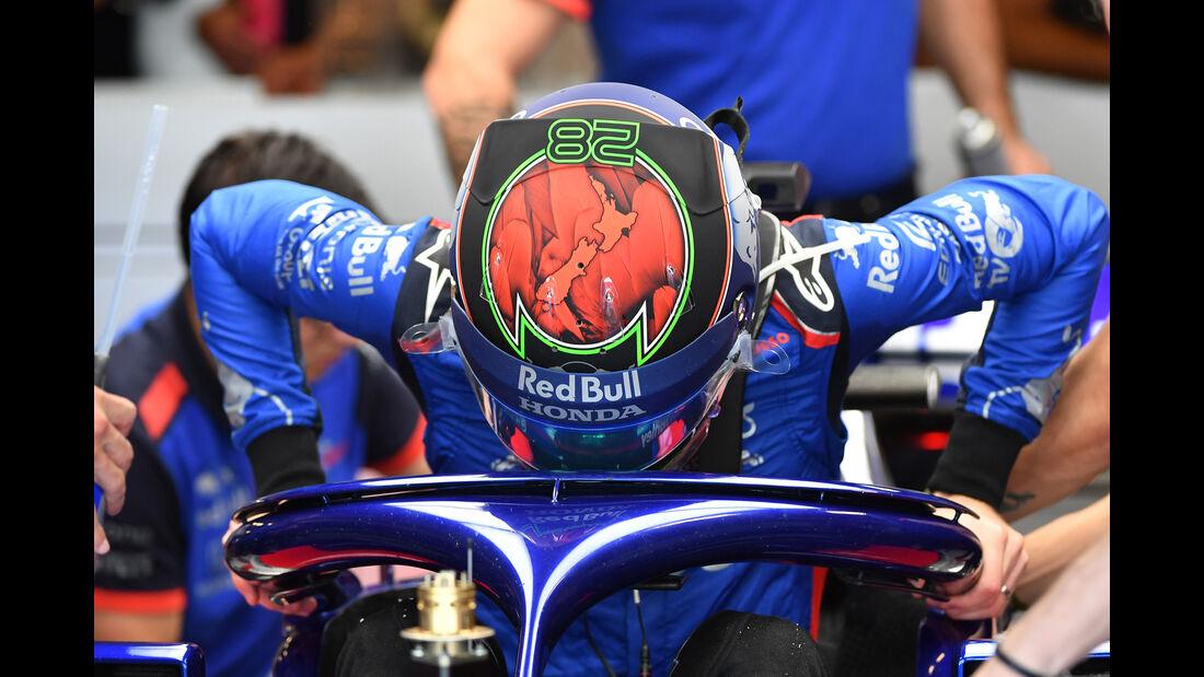 Brendon Hartley - Toro Rosso - GP Abu Dhabi - Formel 1 - 23. November 2018