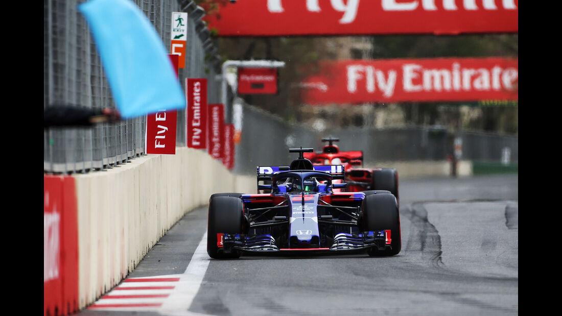 Brendon Hartley - Toro Rosso - GP Aserbaidschan 2018 - Baku - Rennen