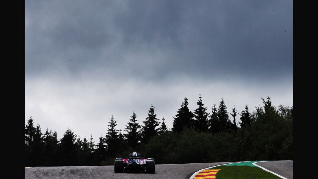 Brendon Hartley - Toro Rosso - GP Belgien - Spa-Francorchamps - 24. August 2018