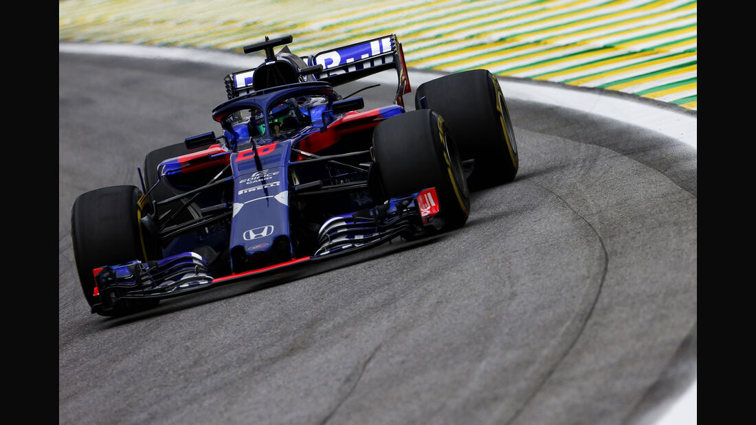 Brendon Hartley - Toro Rosso - GP Brasilien - Interlagos - Formel 1 - Freitag - 9.11.2018