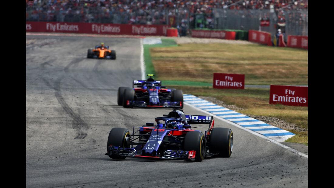 Brendon Hartley - Toro Rosso - GP Deutschland 2018 - Rennen