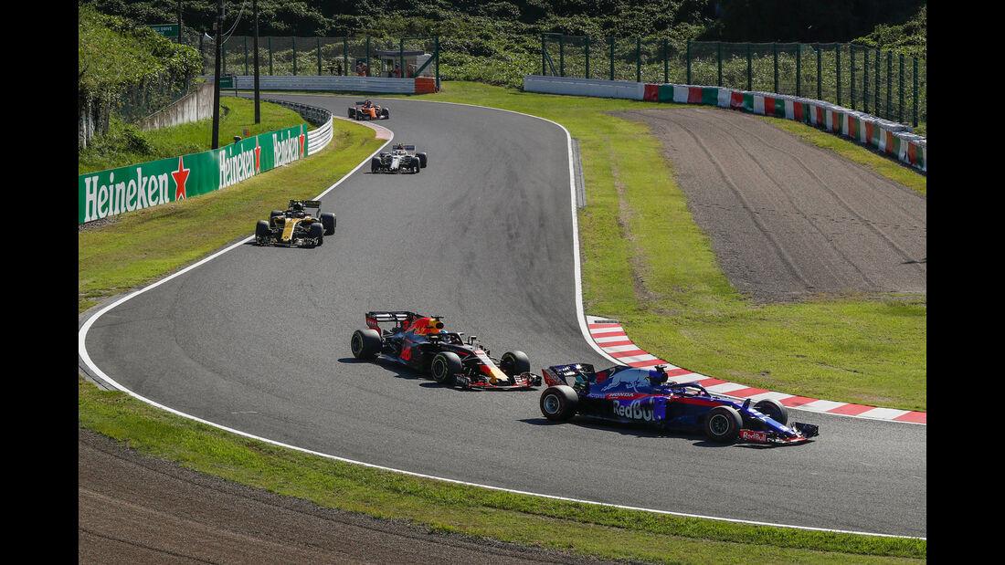 Brendon Hartley - Toro Rosso - GP Japan 2018 - Suzuka - Rennen