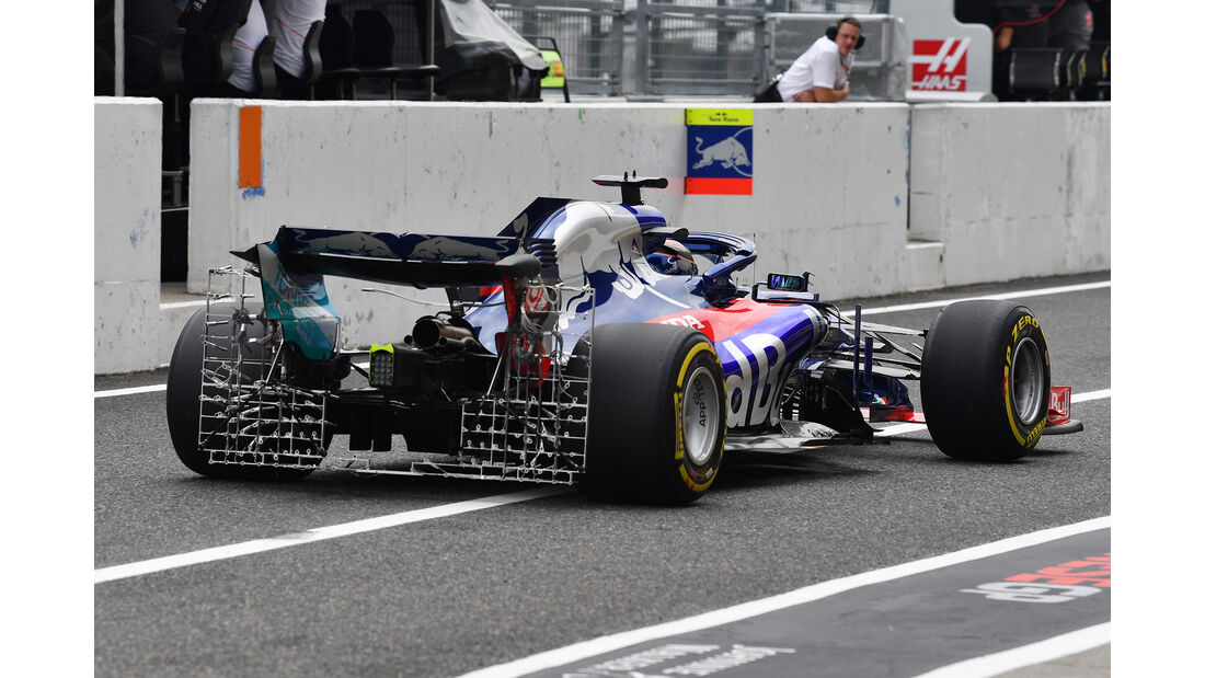 Brendon Hartley - Toro Rosso - GP Japan - Suzuka - Formel 1 - Freitag - 5.10.2018