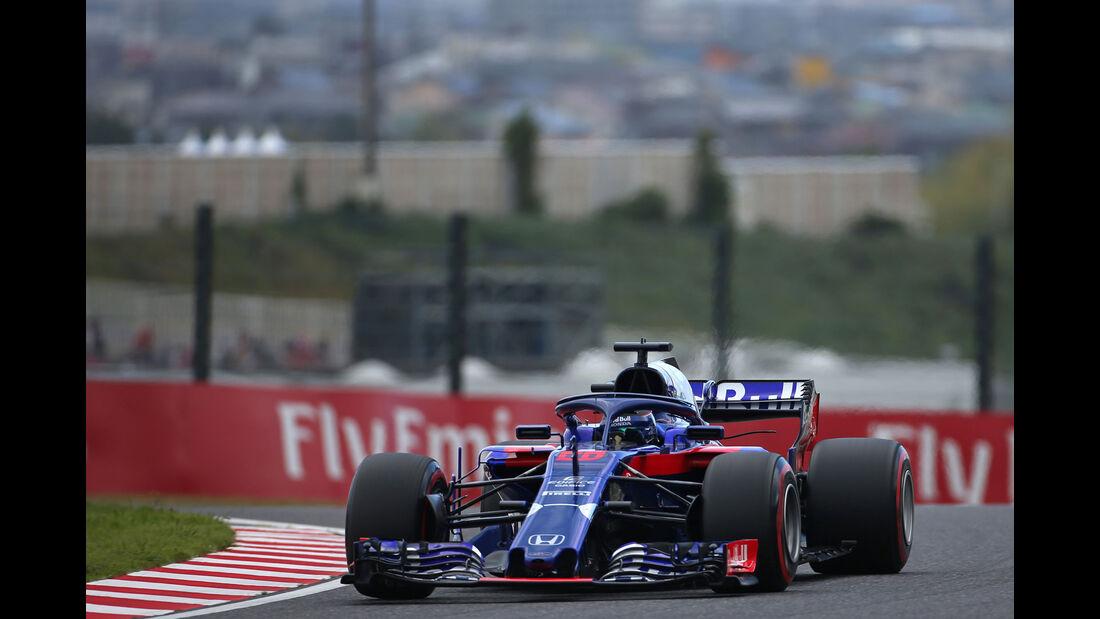 Brendon Hartley - Toro Rosso - GP Japan - Suzuka - Formel 1 - Samstag - 6.10.2018