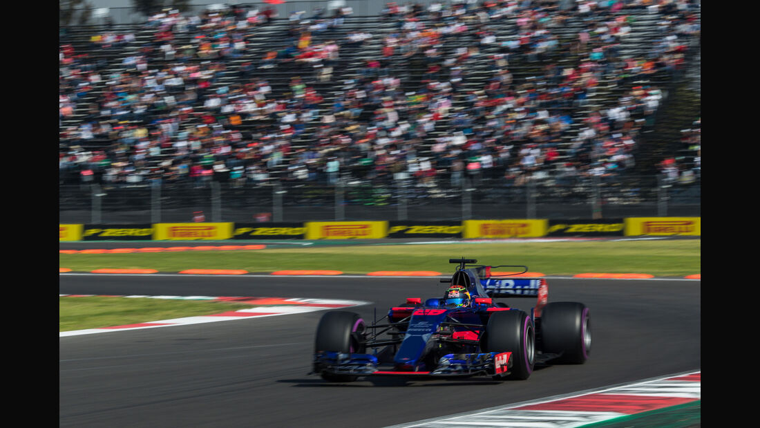 Brendon Hartley - Toro Rosso - GP Mexiko 2017 - Qualifying