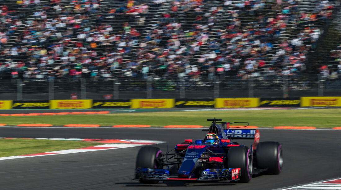 Brendon Hartley - Toro Rosso - GP Mexiko 2017 - Qualifying