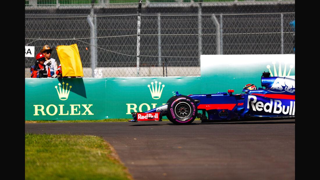 Brendon Hartley - Toro Rosso - GP Mexiko - Formel 1 - Freitag - 27.10.2017