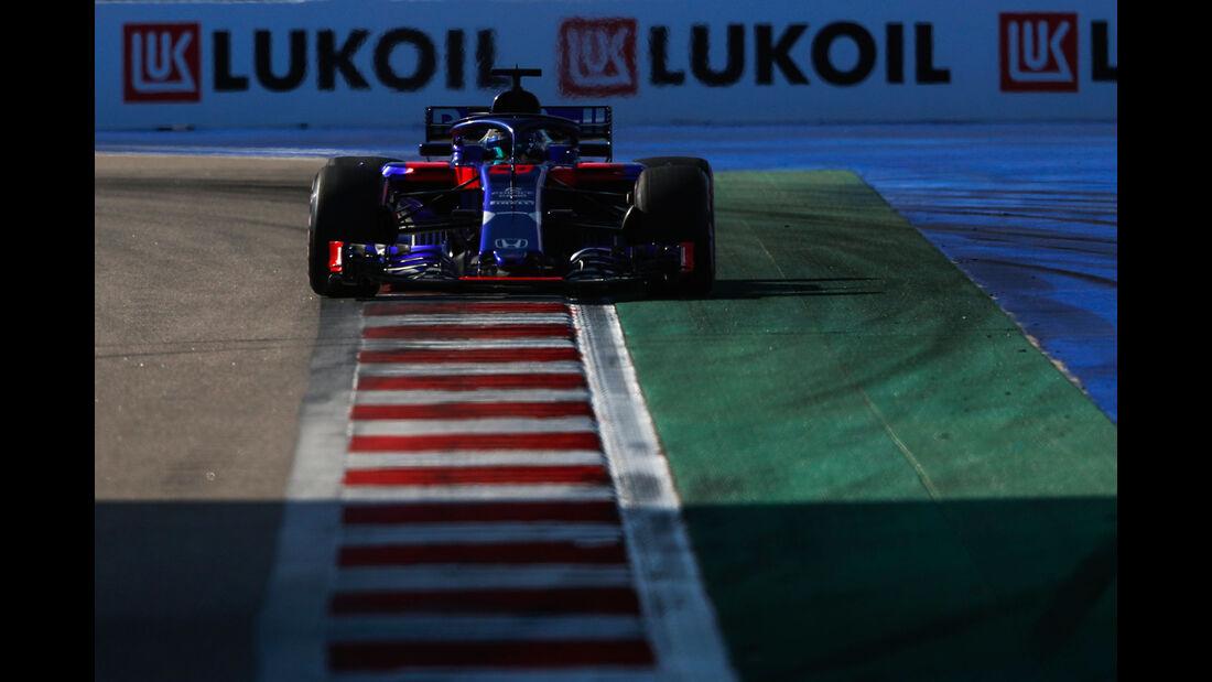Brendon Hartley - Toro Rosso - GP Russland 2018 - Sotschi - Qualifying