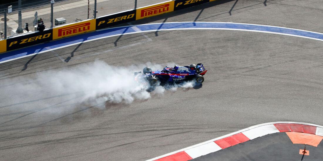 Brendon Hartley - Toro Rosso - GP Russland 2018 - Sotschi - Rennen