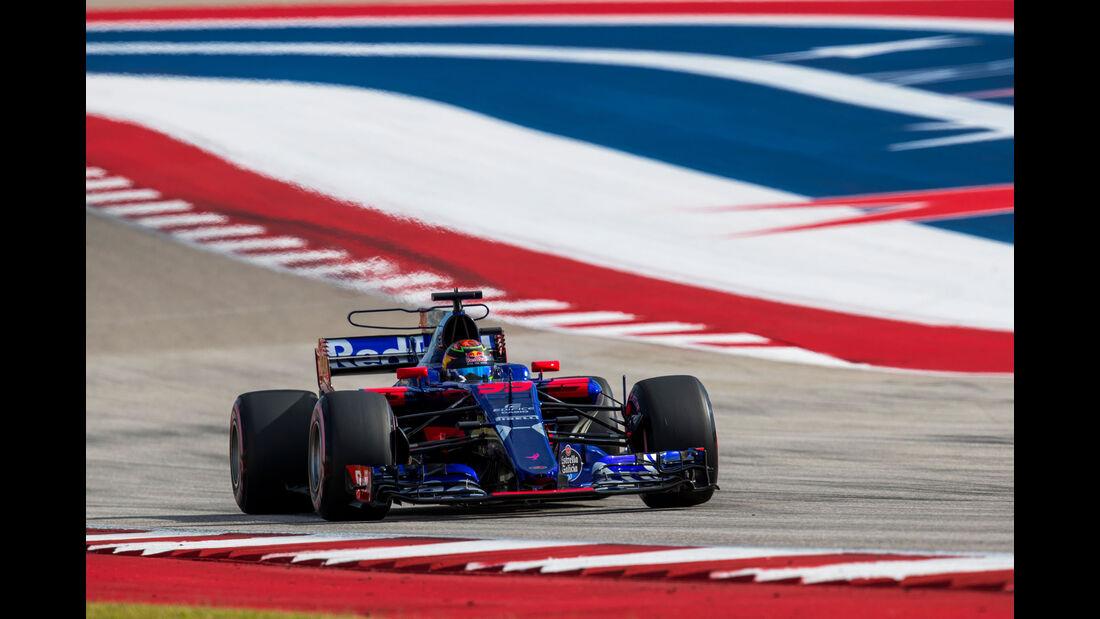 Brendon Hartley - Toro Rosso - GP USA 2017 - Qualifying