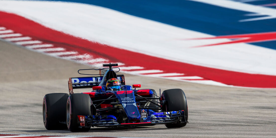 Brendon Hartley - Toro Rosso - GP USA 2017 - Qualifying