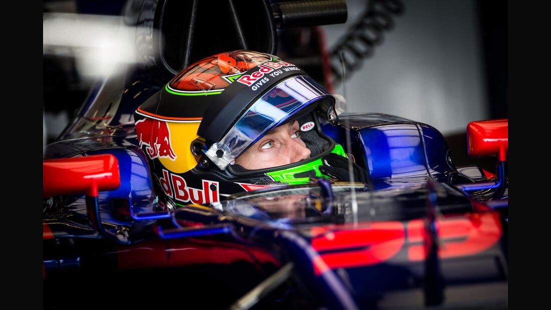 Brendon Hartley - Toro Rosso - GP USA - Austin - Formel 1 - Donnerstag - 19.10.2017