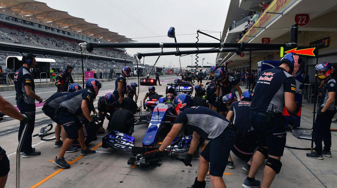 Brendon Hartley - Toro Rosso - GP USA - Austin - Formel 1 - Freitag - 20.10.2017