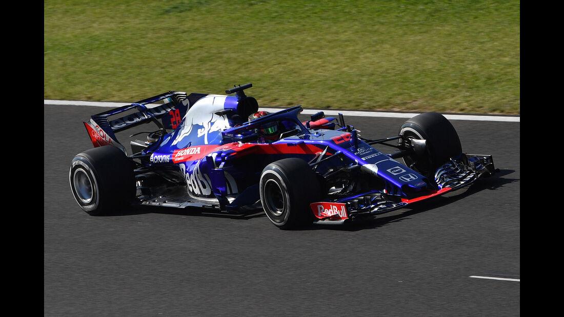 Brendon Hartley - Toro Rosso - GP Ungarn - Budapest - F1-Test - 31. Juli 2018