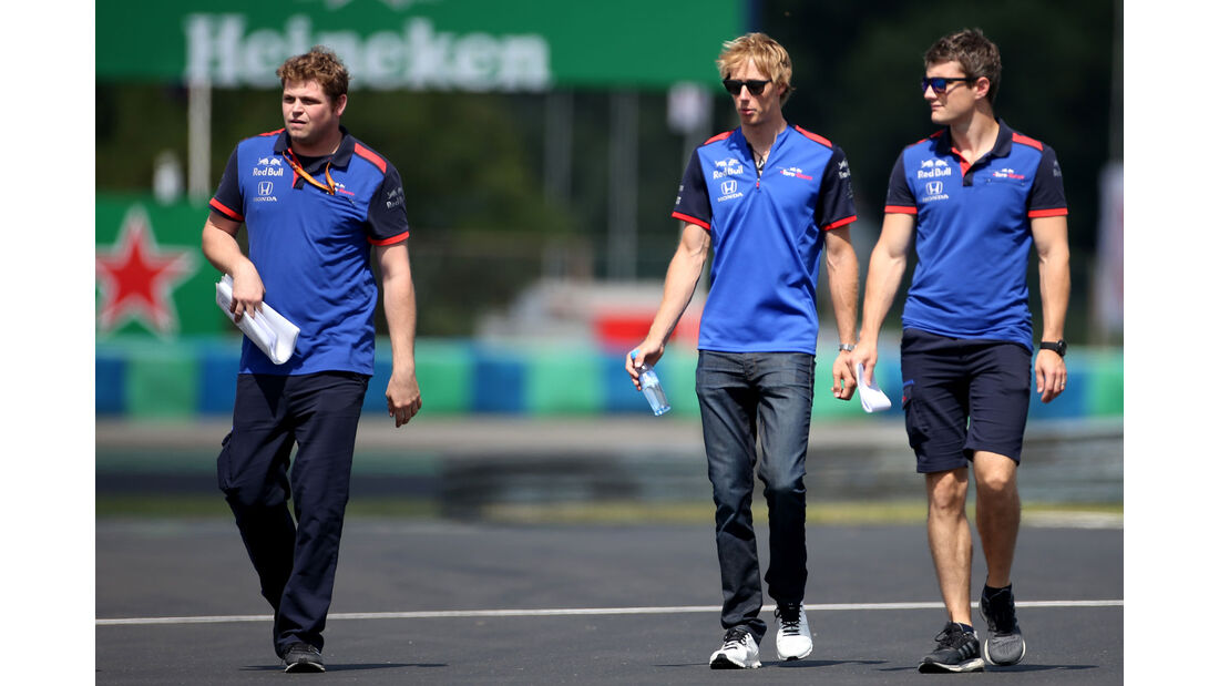 Brendon Hartley - Toro Rosso - GP Ungarn - Budapest - Formel 1 - Donnerstag - 26.7.2018