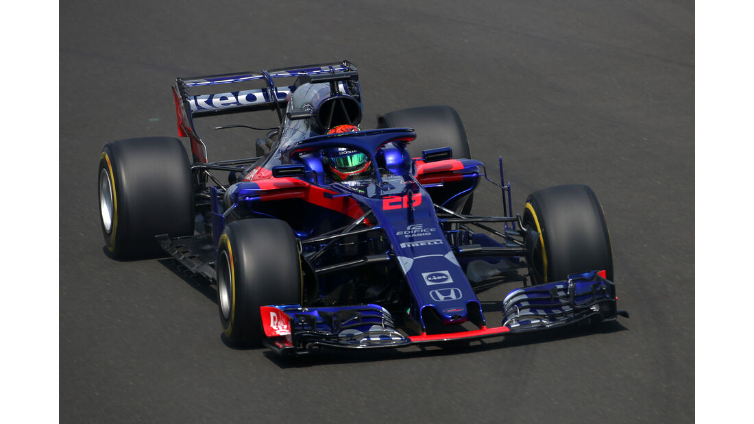 Brendon Hartley - Toro Rosso - GP Ungarn - Budapest - Formel 1 - Freitag - 27.7.2018