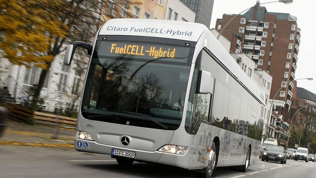 Brennstoffzellen Bus Mercedes Citaro