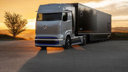 Brennstoffzellen-Lkw Mercedes-Benz GenH2 Truck