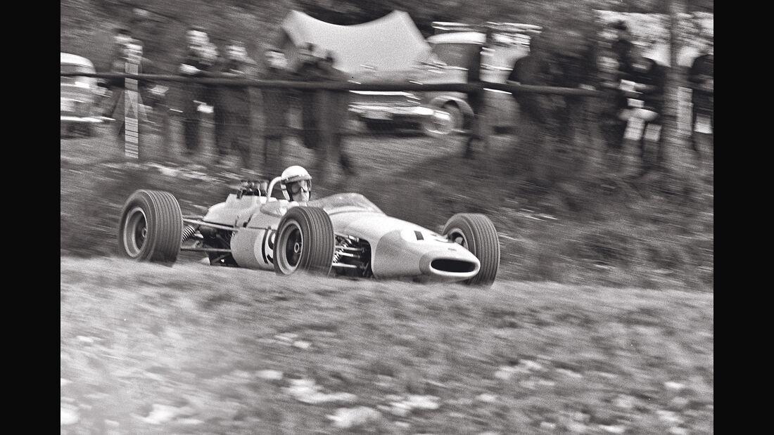 Brian Redman - Brabham BT16 - Eifelrennen 1967 - Formel 2
