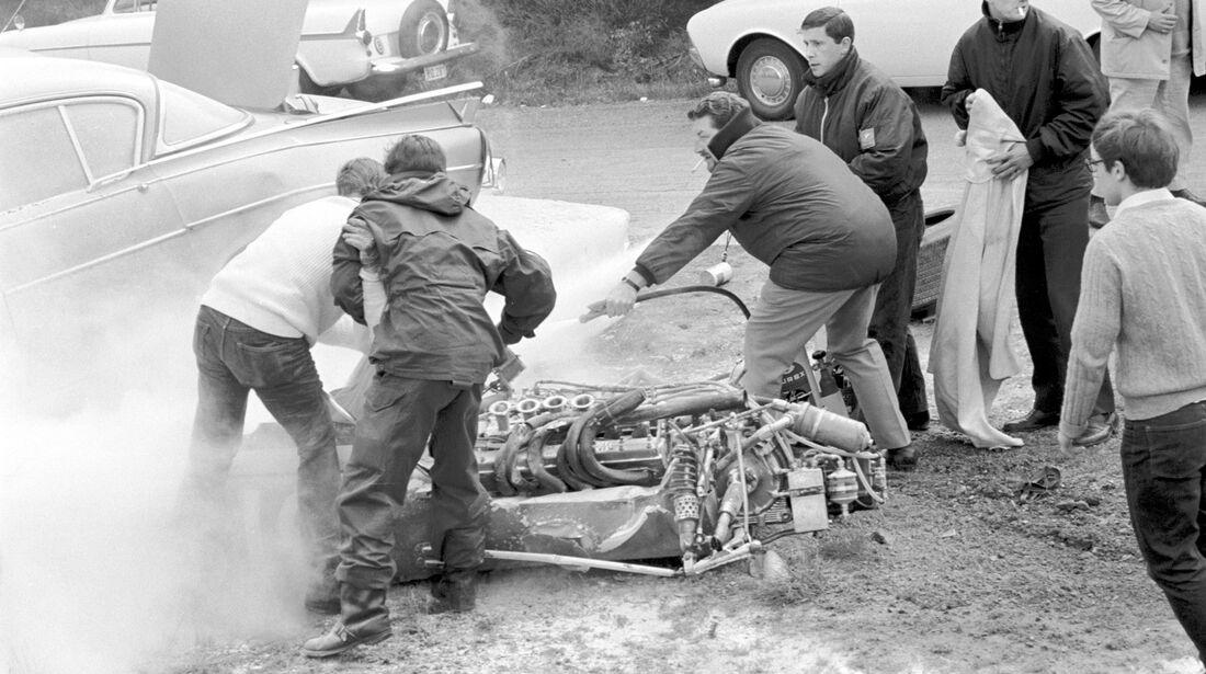 Brian Redman - Cooper T86B - GP Belgien 1968 - Spa