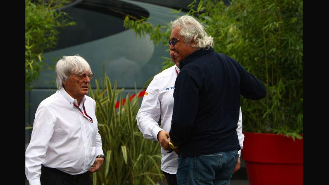 Briatore & Ecclestone - GP Italien - Monza - 10. September 2011