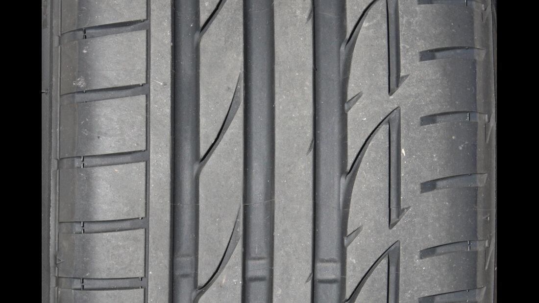 Bridgestone Potenza S 001 Reifenprofil