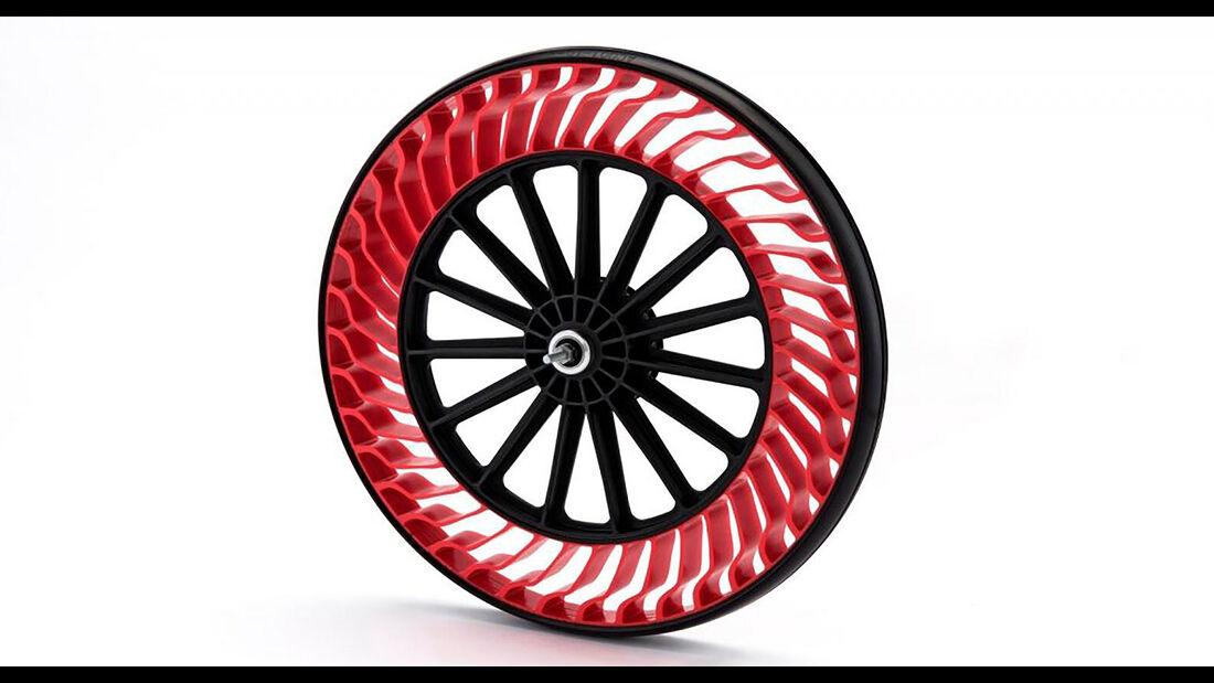 Bridgestone Reifenkonzept Airless Tires