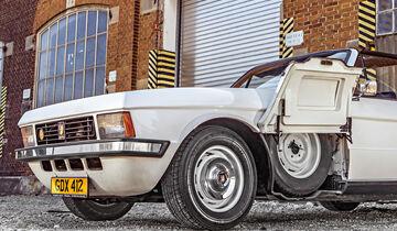 Bristol 412 SII Zagato, Ersatzrad