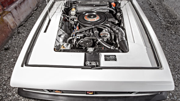 Bristol 412 SII Zagato, Motor