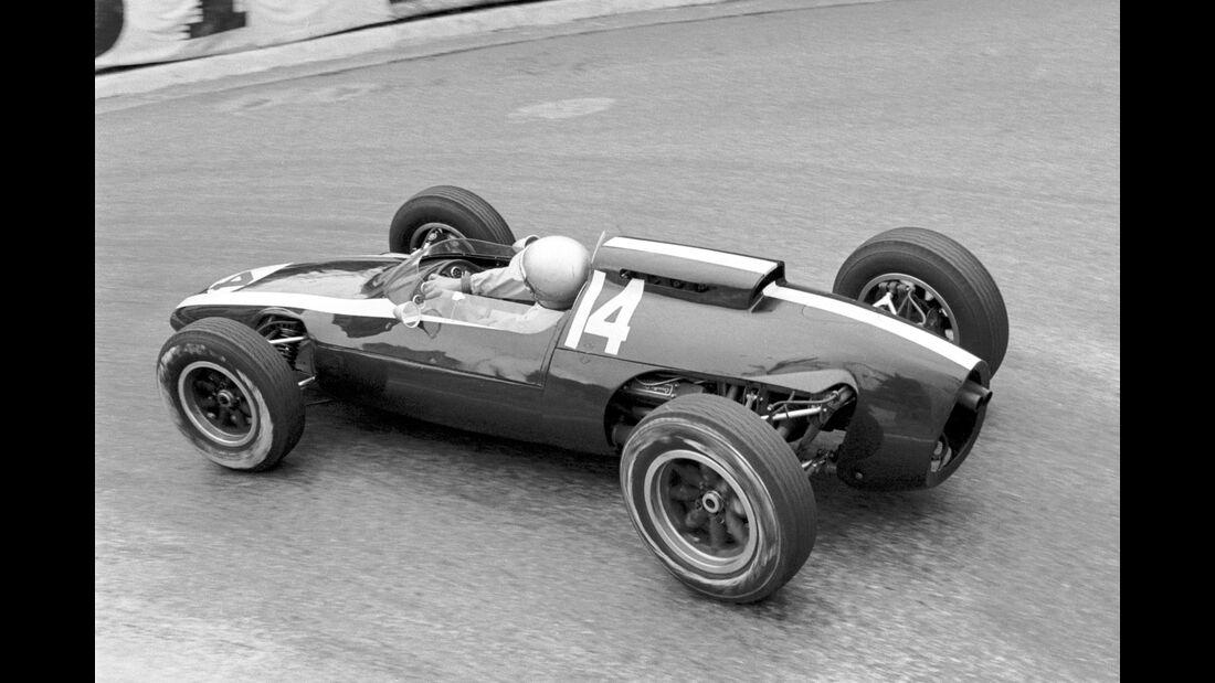 Bruce McLaren - Cooper T60 GP Monaco 1962