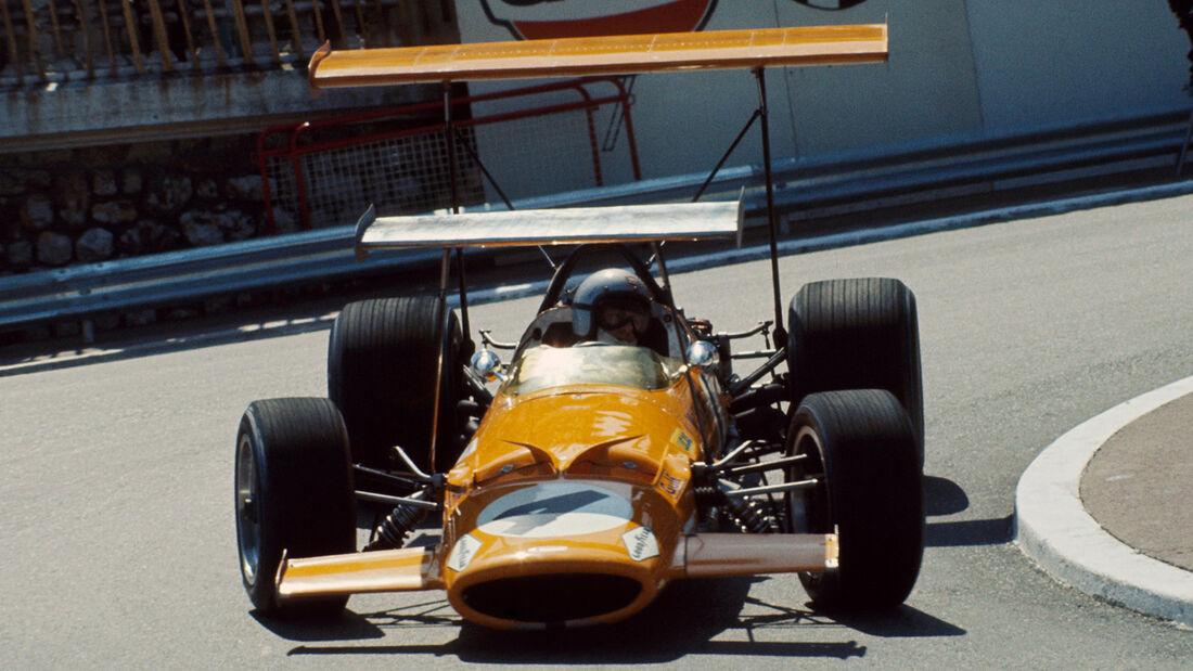 Bruce McLaren - McLaren M7C - GP Monaco 1969