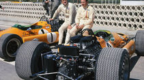 Bruce McLaren und Denis Hulme 1968