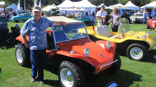 Bruce Meyers mit einem VW-Buggy