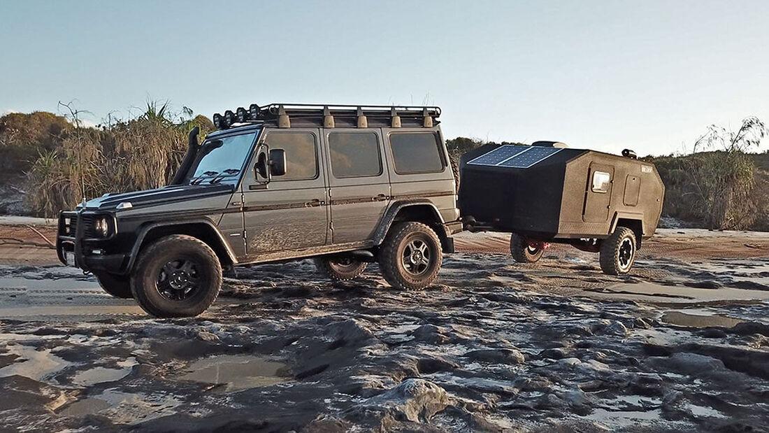 Bruder EXP-4 Offroad-Caravan / GelŠnde-Wohnwagen Australien