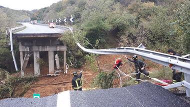 Brückeneinsturz Italien