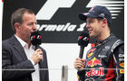 Brundle & Vettel GP Indien 2012